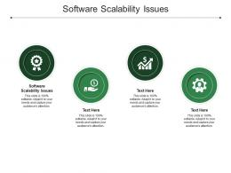 Software Scalability Issues Ppt Powerpoint Presentation Icon Layout Cpb