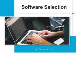 Software Selection Management Process Marketing Business Analyzing