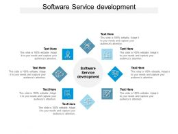 Software Service Development Ppt Powerpoint Presentation Portfolio Professional Cpb