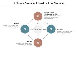 Software Service Infrastructure Service Ppt Powerpoint Presentation Pictures Background Image Cpb