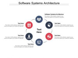 Software Systems Architecture Ppt Powerpoint Presentation Styles Slideshow Cpb