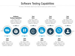 Software Testing Capabilities Ppt Powerpoint Presentation File Example Cpb