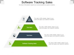 Software Tracking Sales Ppt Powerpoint Presentation Ideas Example Topics Cpb