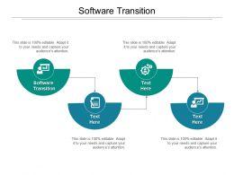 Software Transition Ppt Powerpoint Presentation Gallery Slide Portrait Cpb