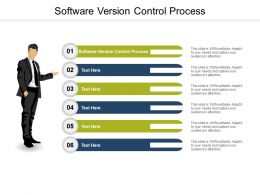 Software Version Control Process Ppt Powerpoint Presentation Deck Cpb