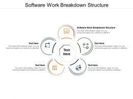 Software Work Breakdown Structure Ppt Powerpoint Presentation Professional Deck Cpb