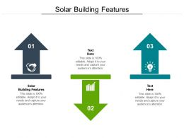 Solar Building Features Ppt Powerpoint Presentation Ideas Tips Cpb