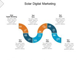 Solar Digital Marketing Ppt Powerpoint Presentation Summary Good Cpb
