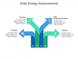 Solar Energy Advancements Ppt Powerpoint Presentation Professional Graphics Template Cpb