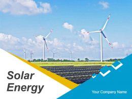 Solar Energy Introduction Powerpoint Presentation Slides