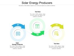 Solar Energy Producers Ppt Powerpoint Presentation Clipart Cpb