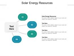 Solar Energy Resources Ppt Powerpoint Presentation Professional Good Cpb