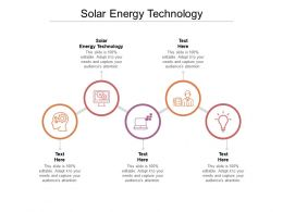 Solar Energy Technology Ppt Powerpoint Presentation Infographics Introduction Cpb