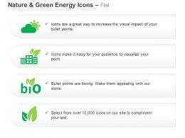 Solar Light Green House Bio Energy Production Ppt Icons Graphics