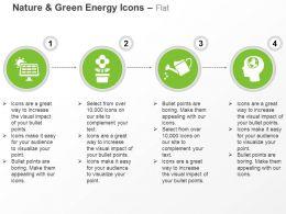 solar_light_production_flower_pot_sprinkler_global_environment_safety_ppt_icons_graphics_Slide01
