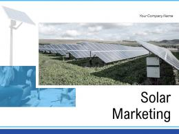 Solar Marketing Product Environment Awareness Business Assessment