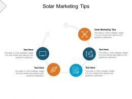 Solar Marketing Tips Ppt Powerpoint Presentation Outline Visuals Cpb
