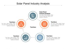 Solar Panel Industry Analysis Ppt Powerpoint Presentation Model Themes Cpb