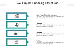 Solar Project Financing Structures Ppt Powerpoint Presentation Professional Vector Cpb
