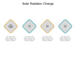 Solar Radiation Change Ppt Powerpoint Presentation Infographics Designs Download Cpb