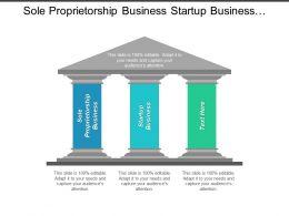 Sole Proprietorship Business Startup Business Performance Appraisal Advertising Marketing Cpb