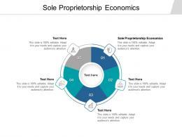 Sole Proprietorship Economics Ppt Powerpoint Presentation Slides Examples Cpb