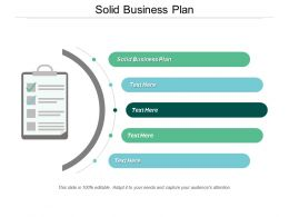 Solid Business Plan Ppt Powerpoint Presentation Ideas Brochure Cpb