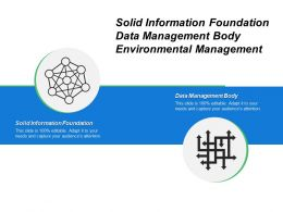 Solid Information Foundation Data Management Body Environmental Management