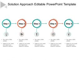 Solution Approach Editable Powerpoint Template