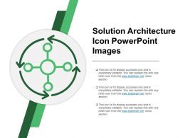 Solution Architecture Icon Powerpoint Images