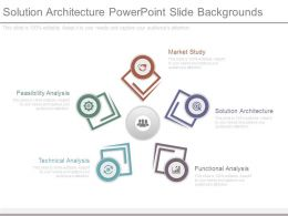 Solution Architecture Powerpoint Slide Backgrounds