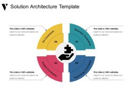 Solution Architecture Template Presentation Visuals