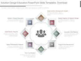 Solution Design Education Powerpoint Slide Templates Download