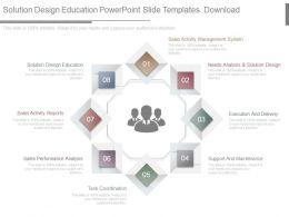 Solution Design Education Powerpoint Slide Templates Download