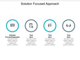 Solution Focused Approach Ppt Powerpoint Presentation Introduction Cpb