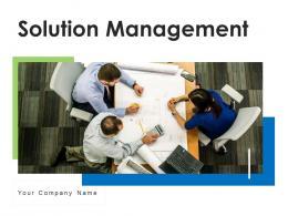 Solution Management Product Analysis Problem Assessment Matrix Risks
