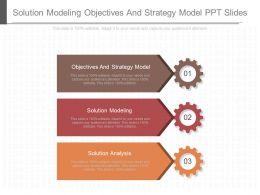 solution_modeling_objectives_and_strategy_model_ppt_slides_Slide01