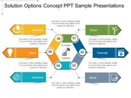Solution Options Concept Ppt Sample Presentations