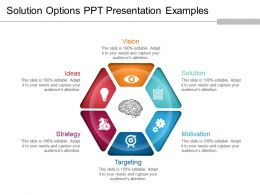 Solution Options Ppt Presentation Examples