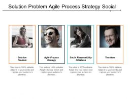 Solution Problem Agile Process Strategy Social Responsibility Initiatives Cpb