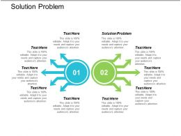 Solution Problem Ppt Powerpoint Presentation File Master Slide Cpb
