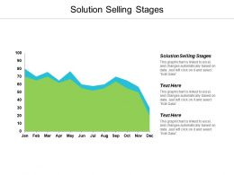 Solution Selling Stages Ppt Powerpoint Presentation Portfolio Samples Cpb