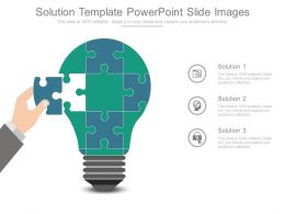 Solution Template Powerpoint Slide Images