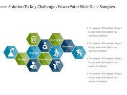 Solution To Key Challenges Powerpoint Slide Deck Samples