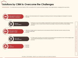 Solutions By CRM To Overcome The Challenges Interaction Points Ppt Powerpoint Presentation File Visuals