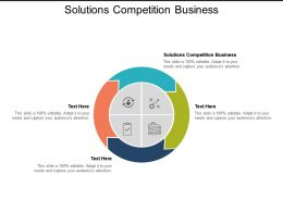 Solutions Competition Business Ppt Powerpoint Presentation Templates Cpb