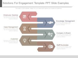 Solutions For Engagement Template Ppt Slide Examples