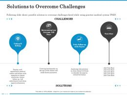 Solutions To Overcome Challenges The Gaps Ppt Powerpoint Presentation Icon Ideas