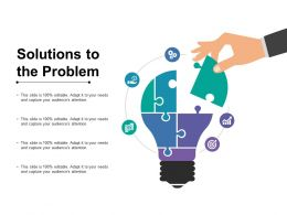 Solutions To The Problem Ppt Styles Grid