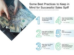 Some Best Practices To Keep In Mind For Successful Sales Spiff
